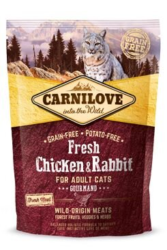 Carnilove Cat Fresh Chicken & Rabbit for Adult