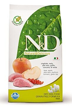 N&D GF DOG Adult Boar & Apple