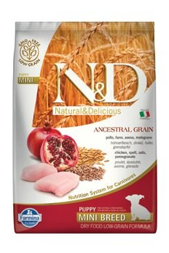 N&D LG DOG Puppy Mini Chicken & Pomegranate