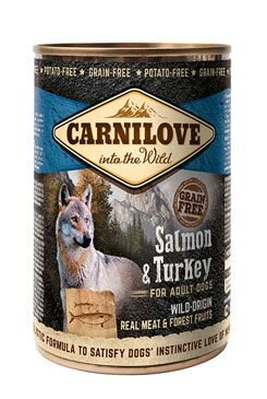 Carnilove Wild konz Meat Salmon & Turkey