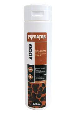 PREDATOR 4DOG šampon antiparazitní 230ml