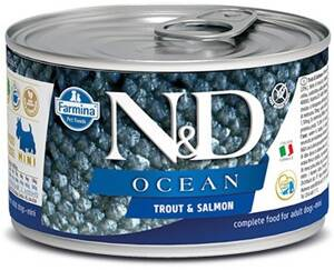 N&D DOG OCEAN Adult Trout & Salmon Mini 140g 4+2 ZDARMA
