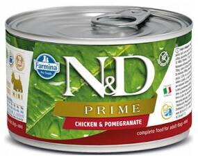 N&D DOG PRIME Adult Chicken & Pomegranate Mini 140g 4+2 ZDARMA
